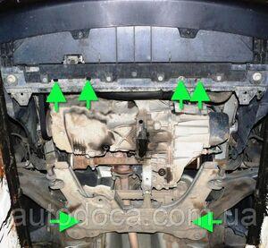 Захист двигуна Renault Kangoo 2 - фото №7