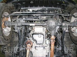 Защита двигателя Jeep Wrangler Rubicon CRD - Фото №3