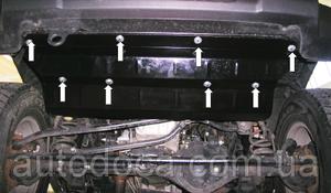 Защита двигателя Jeep Wrangler Rubicon CRD - Фото №2