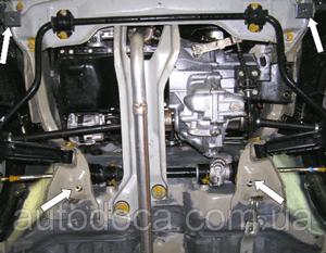 Захист двигуна BYD Flyer - фото №3
