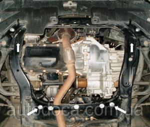Защита двигателя BYD F6 - фото №3