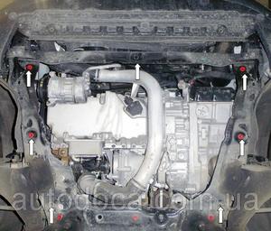 Захист двигуна Volvo XC60 - фото №5