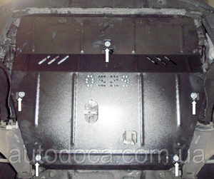 Защита двигателя Volvo XC60 - фото №4