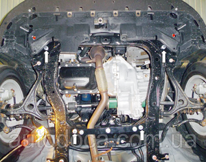 Захист двигуна BYD G6 - фото №3