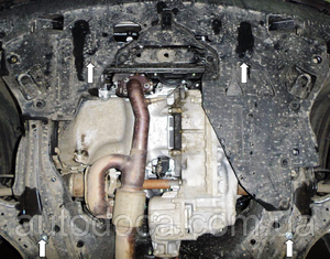 Защита двигателя Acura RDX - фото №7