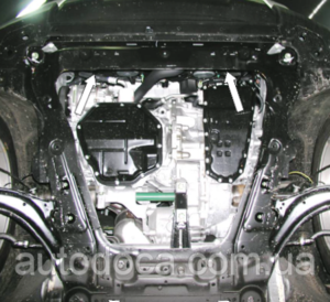 Захист двигуна Renault Koleos 1 - фото №8