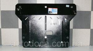 Защита двигателя Hyundai Accent 5 - фото №3