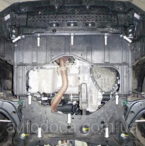 Захист двигуна Suzuki Vitara - фото №9