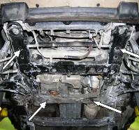 Защита двигателя Suzuki Grand Vitara 2 - фото №12