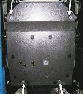 Защита двигателя Suzuki Grand Vitara 2 - фото №11