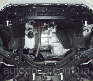 Защита двигателя Suzuki Swift 5 - фото №5