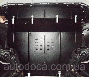 Защита двигателя Suzuki Swift 5 - фото №4
