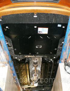 Защита двигателя Hyundai Accent 5 - фото №5