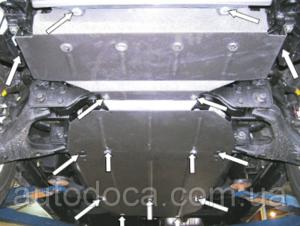 Захист двигуна Kia Sorento 1 - фото №4