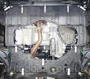 Захист двигуна Suzuki SX-4 S-cross - фото №7