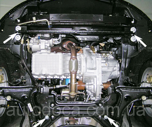 Защита двигателя Chery A 13 - фото №4