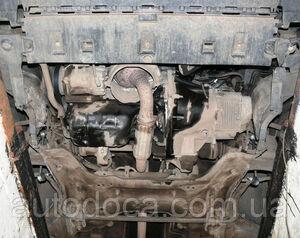 Защита двигателя Peugeot Partner Tepee - фото №6