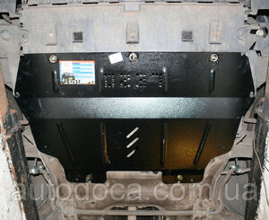Защита двигателя Peugeot Partner Tepee - фото №5