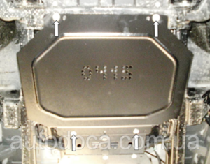 Защита двигателя Mitsubishi Pajero Sport 2 - фото №14