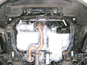 Защита двигателя Mazda CX-9 - фото №5