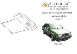 Защита двигателя Volkswagen Jetta 2 - фото №1