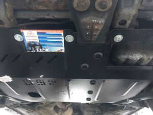 Захист двигуна Mitsubishi Carisma - фото №4