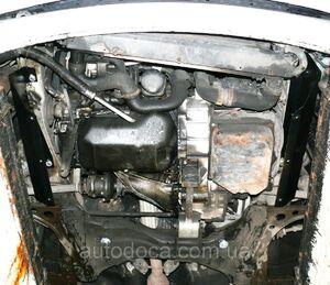 Защита двигателя Seat Alhambra 1 - фото №7