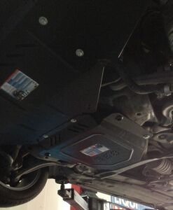 Защита двигателя Audi A6 C5 - фото №2