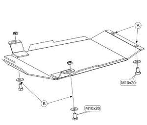 Защита двигателя Audi A6 C5 - фото №8