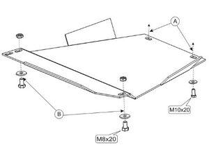 Защита двигателя Audi A4 B5 - фото №3