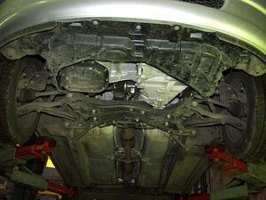 Захист двигуна Toyota Yaris 1 - фото №4