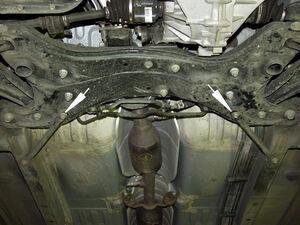 Захист двигуна Toyota Yaris 1 - фото №5