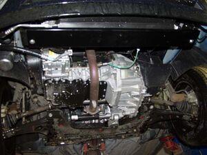 Защита двигателя Ford Focus 1 - фото №2