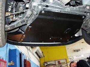 Защита двигателя Ford Focus 1 - фото №5