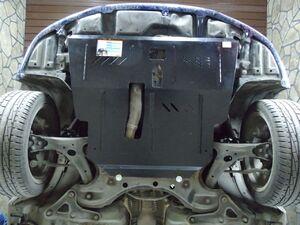 Защита двигателя Toyota Avensis 2 - фото №3
