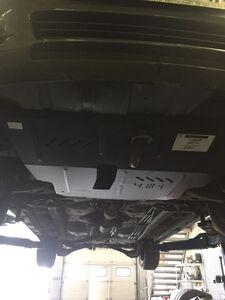 Защита двигателя Toyota Avensis 2 - фото №8