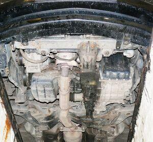 Защита двигателя Mitsubishi Lancer 9 - фото №4