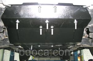 Защита двигателя Toyota Land Cruiser 200 - фото №5