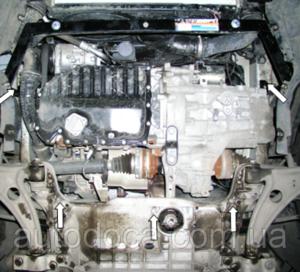 Защита двигателя Volkswagen Passat B6 - фото №5