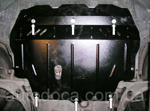 Защита двигателя Volkswagen Passat B6 - фото №4