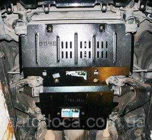 Защита двигателя Toyota Land Cruiser Prado 120 - фото №6