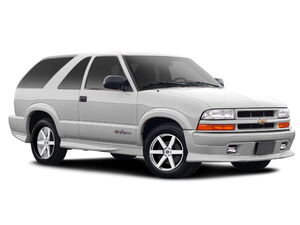 Защита двигателя Chevrolet Blazer - фото №1