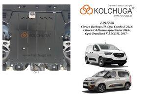 Защита двигателя Opel Combo E - фото №1