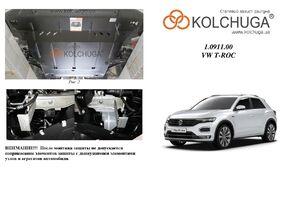 Защита двигателя Volkswagen T-ROC - фото №1