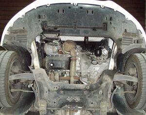 Защита двигателя Citroen DS5 - фото №5