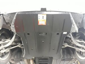Захист двигуна BMW X3 F25 - фото №8