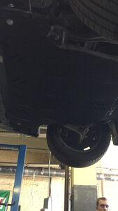 Защита двигателя Honda Accord 7 - фото №5