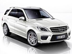 Защита двигателя Mercedes-Benz ML W166 - фото №1