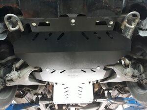 Защита двигателя Toyota Sequoia 2 - фото №5