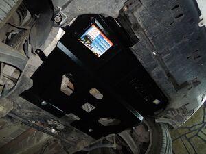 Защита двигателя Citroen DS5 - фото №4